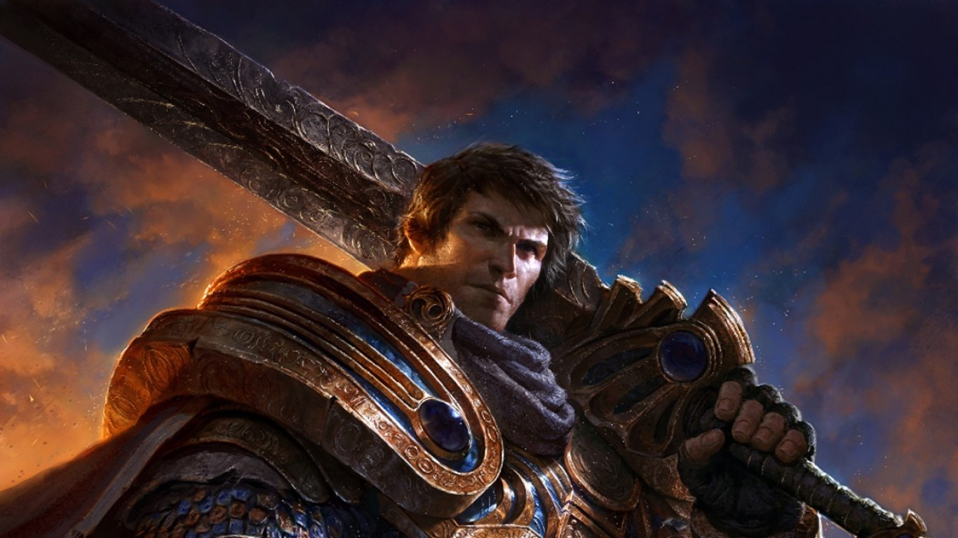 Garen Vs Darius Art Of Lol