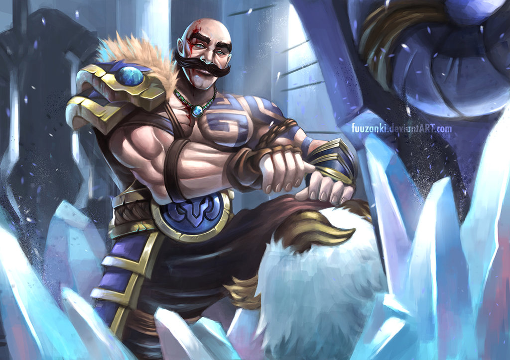 Braum League Of Legends Fan Art 3