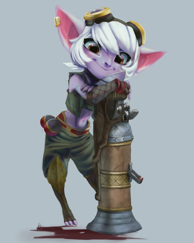 Tristana League Of Legends Fan Art