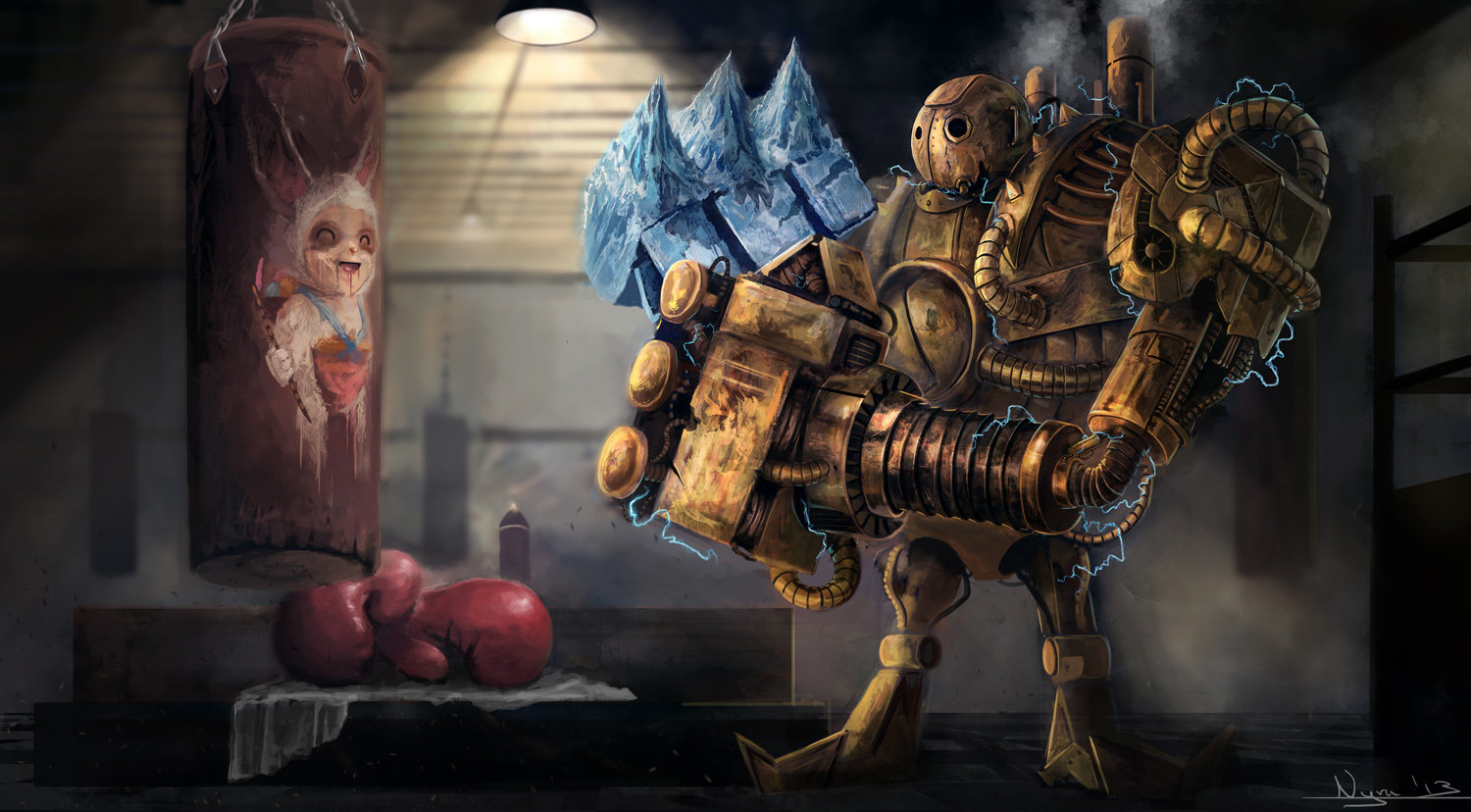 Blitzcrank League Of Legends Fan Art 4