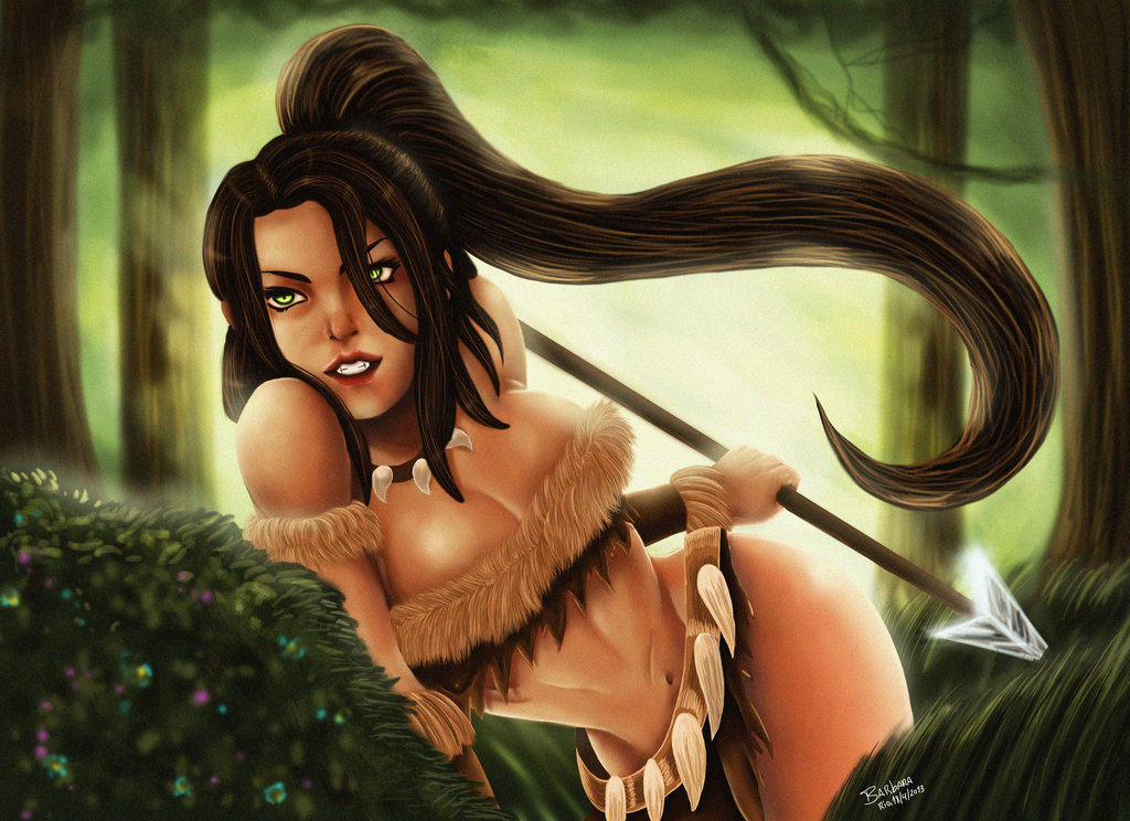 Nidalee League Of Legends Fan Art 7
