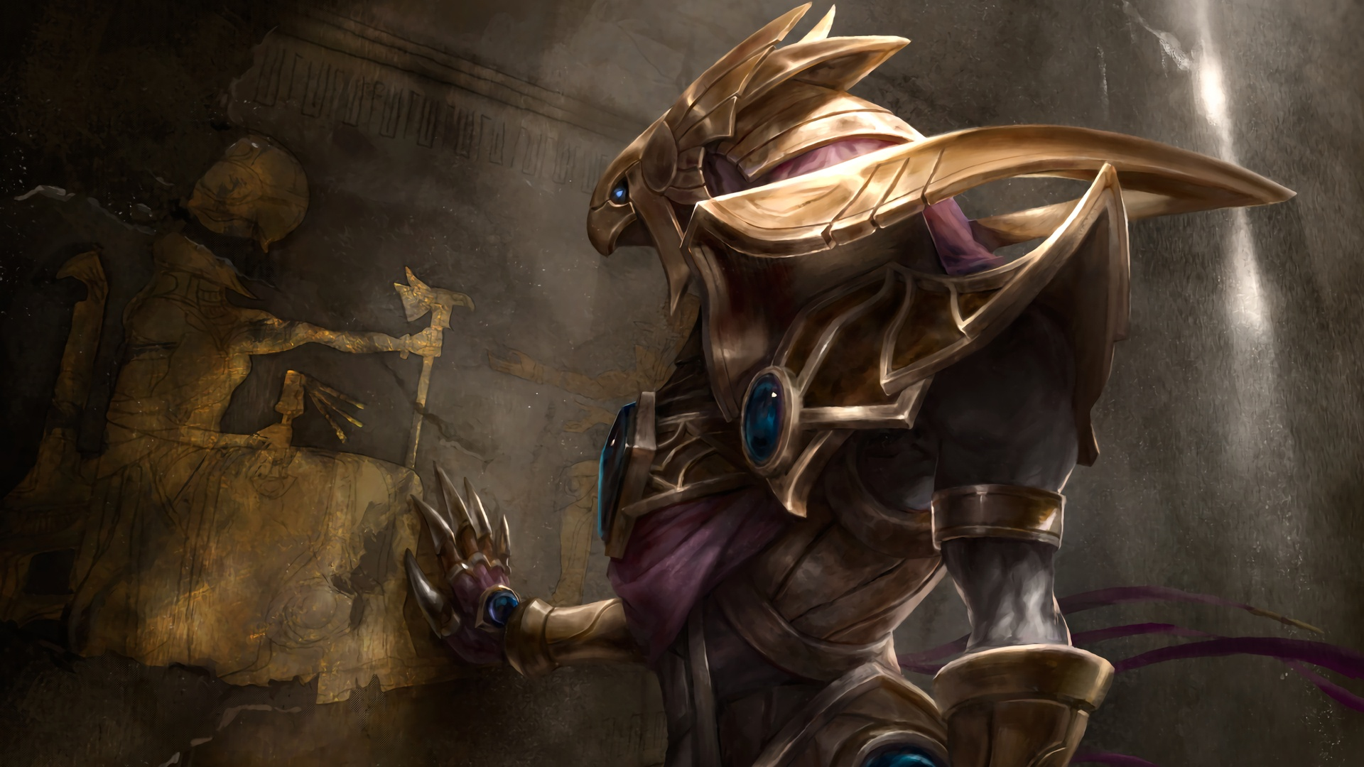 Azir League Of Legends Wallpapers HD 1920x1080 1