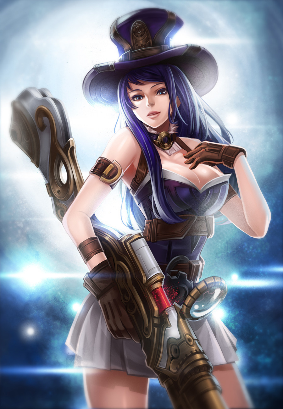 caitlyn league of legends fan